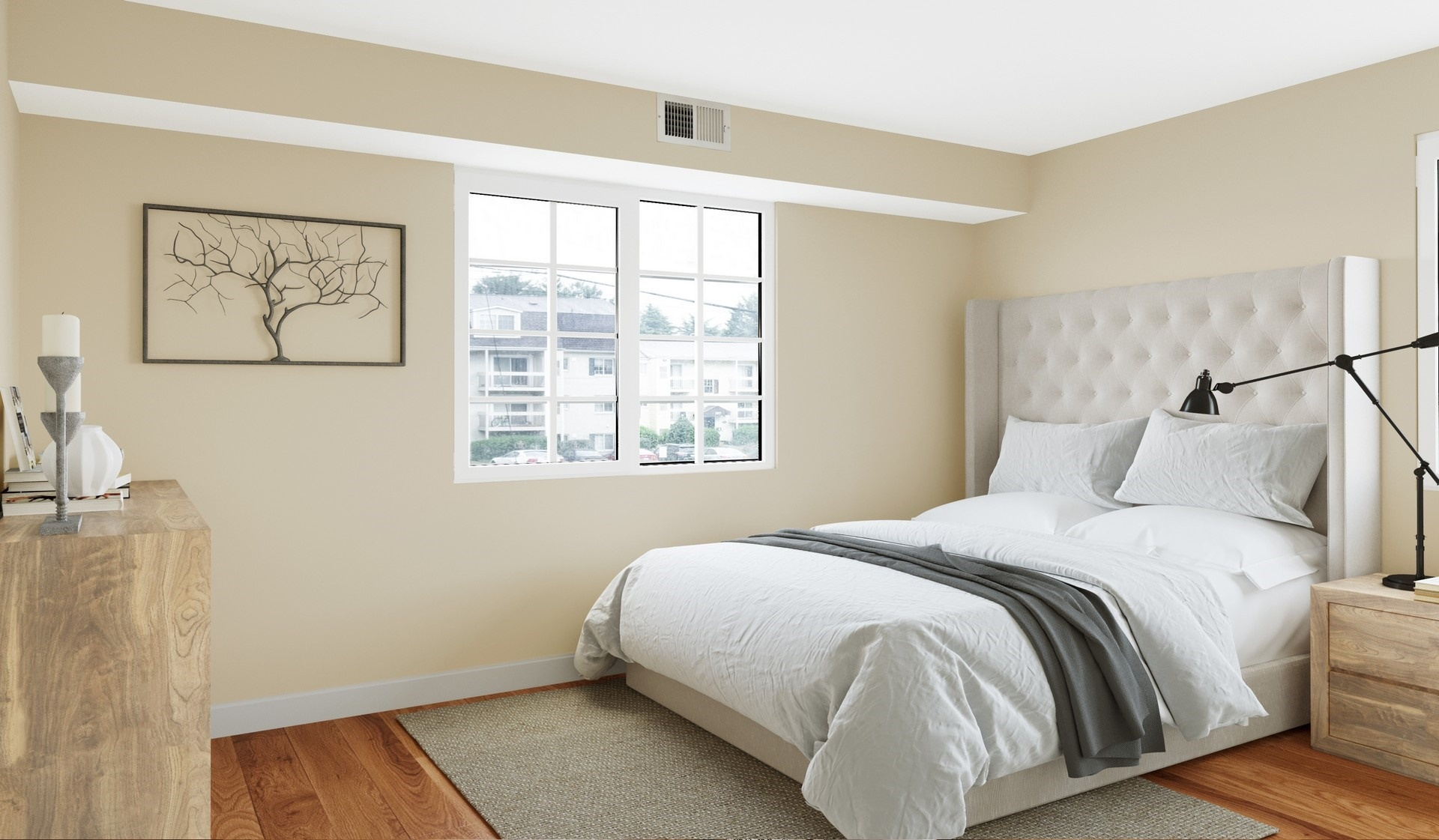 Foxhcase Apartments | Alexandria, Virginia| Interiors - bed